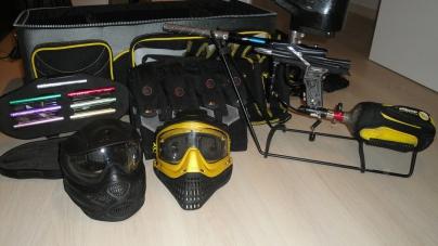 Paintball Masken Pflegen