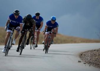 Fahrradfahren als begleitendes Training zum Volleyball