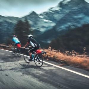 Urlaub in den Alpen mit dem Rad